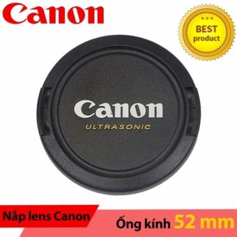 Nắp ống kính Lens cap Canon ultrasonic 52mm