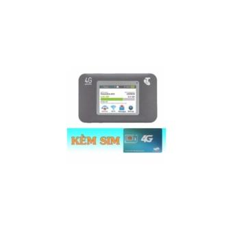 NETGEAR 782S - BỘ PHÁT WIFI DI DỘNG 4G MÀN HÌNH LCD + Sim Vettel3.5GB/tháng