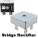 New Diode Bridge Rectifier KBPC5010 50A 1000V (Intl)