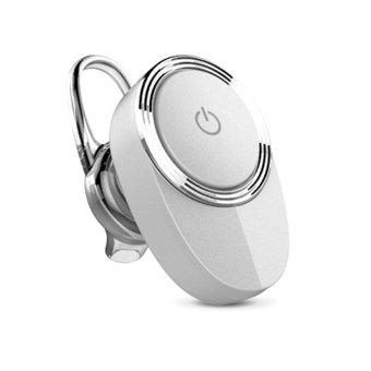 New Mini Water Drops Stereo Bluetooth Headphone (Silver)