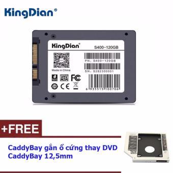 Ổ cứng thể rắn SSD 120G KingDian S400 Series + Tặng Caddybay 12,5mm