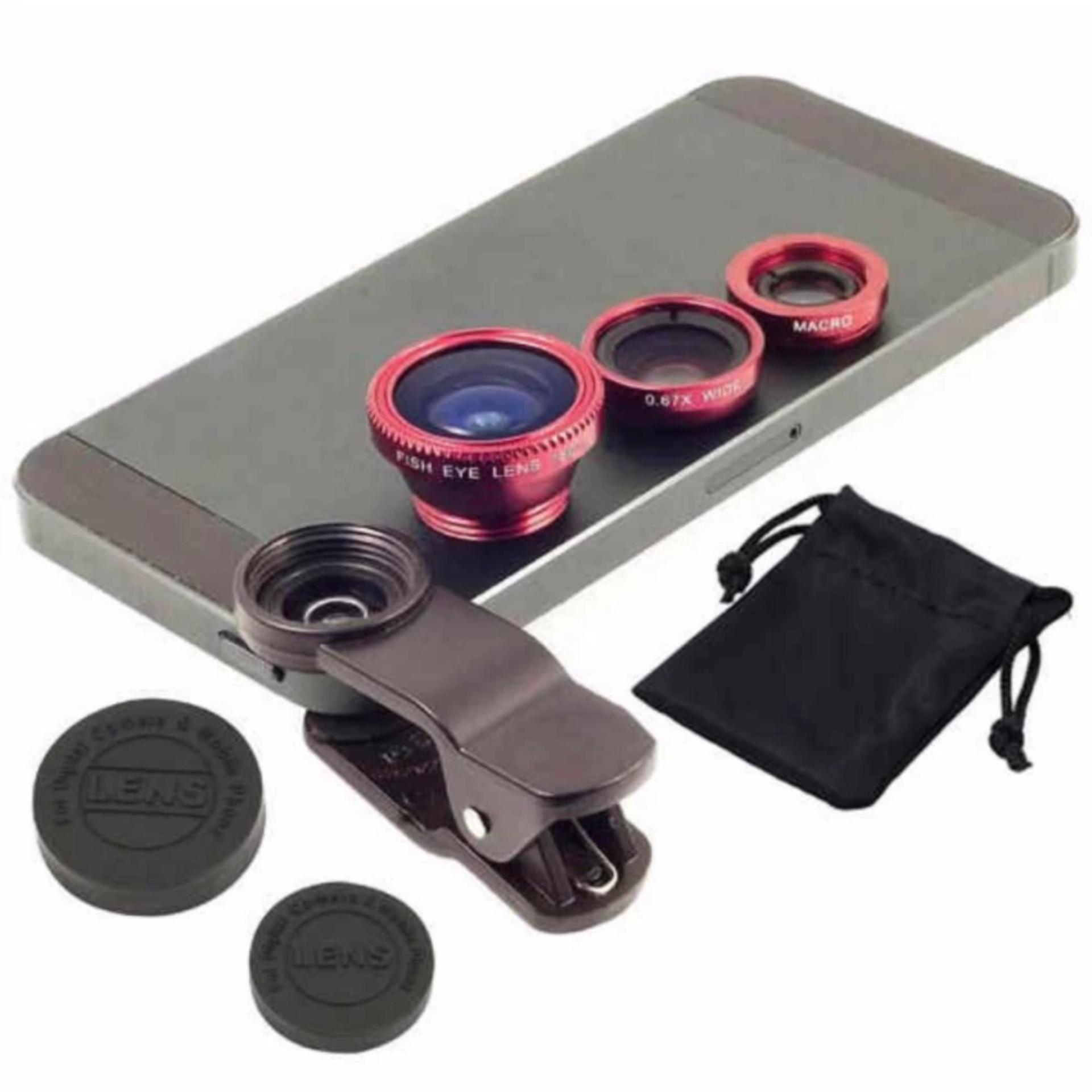 Giá ưu đãi Ống lens Camera 3 trong 1 cho điện thoại mua ngay - Giá chỉ 32.936đ