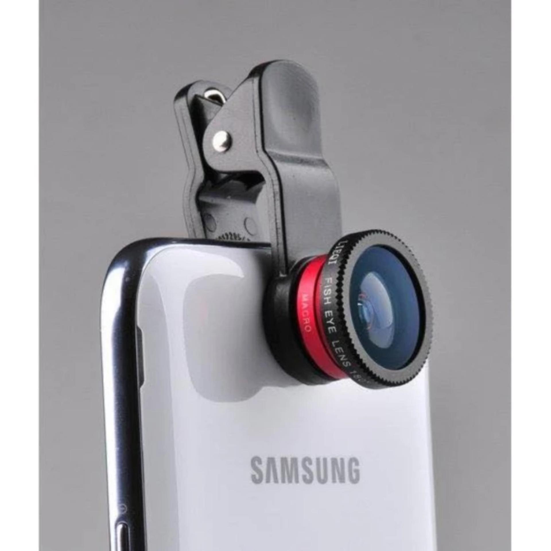 Ống lens Camera 3 trong 1 cho điện thoại .