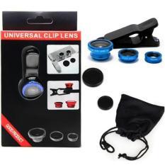Ống Lens chụp hình 3 in 1 Universal Clip Lens 001 tốt nhất