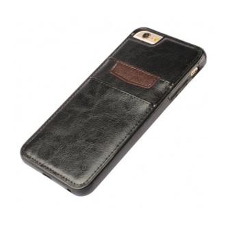 Ốp bao da Doanh Nhân iPhone 5-5S Kiêm ví tiền (Đen) - 3