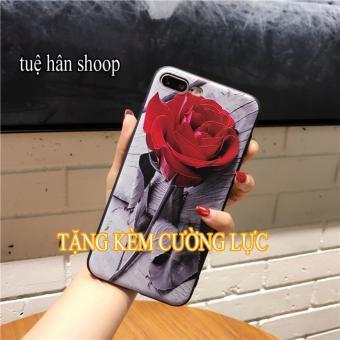 ốp ip6-hoa hồng đỏ