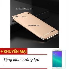 Ốp lưng cho Xiaomi Redmi 4X thời trang cao cấp , tặng kính cường lực.