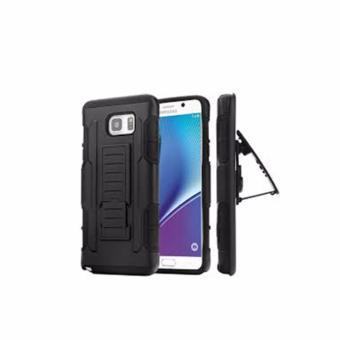 Ốp lưng chống sốc hai mặt cho Samsung Galaxy Note 5 (đen)