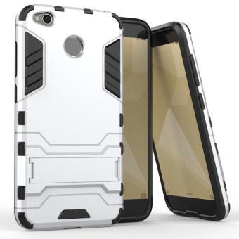 Ốp lưng chống sốc Iron Man cho Xiaomi Redmi 4X (Bạc)