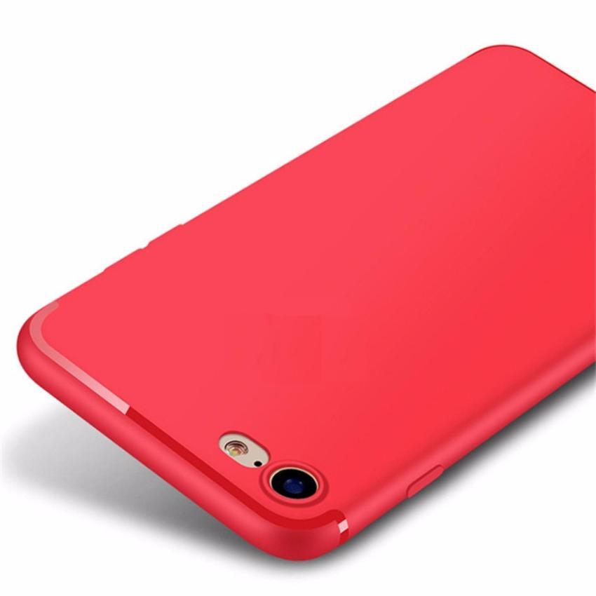 Hình ảnh Ốp lưng iPhone 7 Silicon dẻo Đỏ (RED)