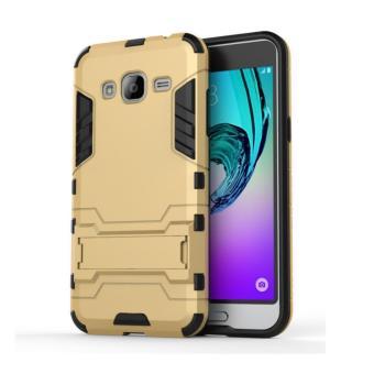 Ốp lưng Iron man cho Samsung Galaxy J3 (Vàng)