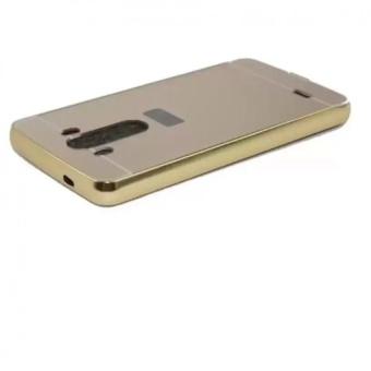 Ốp lưng nguyên khối gương cho LG G3 (Vàng)