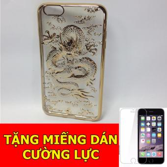 Ốp lưng rồng 4D dành cho iPhone6/ 6s + Tặng 01 miếng dán cường lực