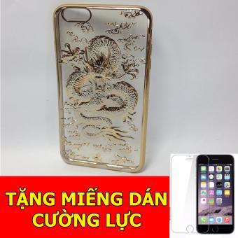 Ốp lưng rồng 4D dành cho iPhone6 Plus + Tặng 01 miếng dán cường lực