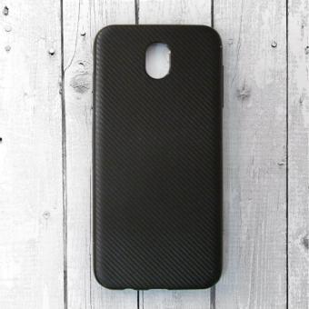Ốp lưng Samsung Galaxy J7 Pro nhựa cứng vân Carbon (Đen)