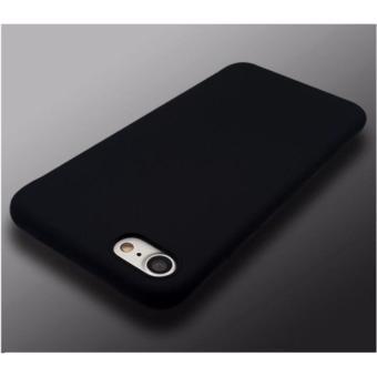 Ốp lưng silicon đen giả da dành cho iPhone 6/6s ( Đen )