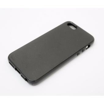 Ốp lưng silicon iPhone 5/5s/5SE đen ( Hàng nhập khẩu )