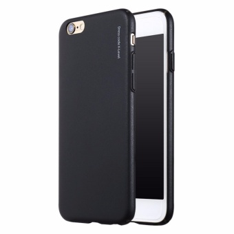 Ốp lưng silicon iPhone 6 6s đen ( Hàng nhập khẩu )