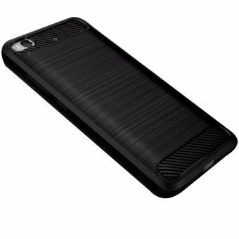 Ốp lưng thời trang cao cấp chống vân tay dành cho Xiaomi Mi 5s (Đen)