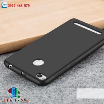 Ốp lưng Xiaomi Redmi 3s Silicone đen