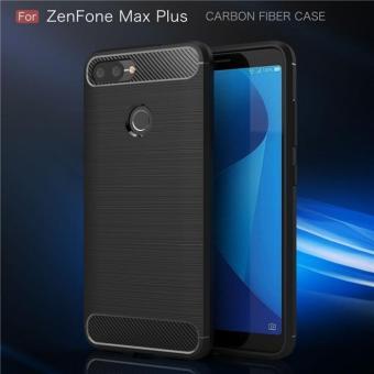Ốp lưng Zenfone Max Plus M1 phay xước chống sốc...
