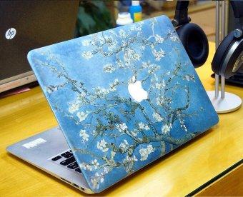 Ốp Macbook hoa đào tuyệt đẹp -C002 13.3 Pro thường