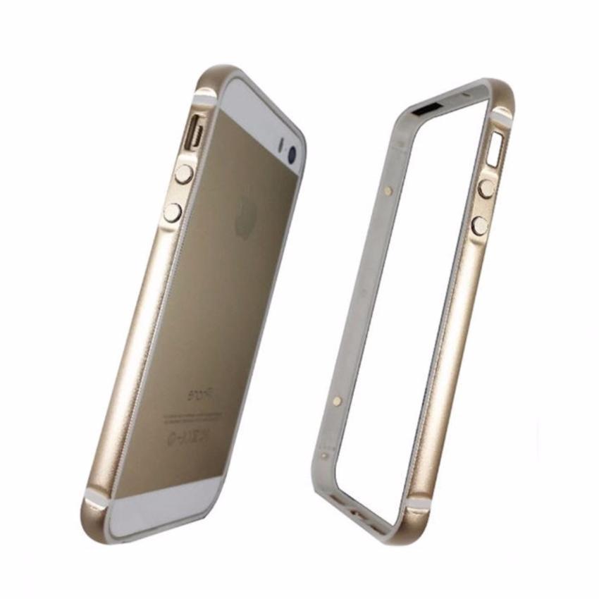 Ốp viền nhôm dẻo Kingpad dành cho iPhone 5/5S/5SE