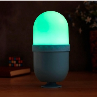 Outdoor Portable LED Wireless Bluetooth Speaker for SmartPhone Tablet PC SB - intl