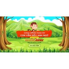 Các loại Phần mềm học tiếng Anh cho trẻ từ 1 đến 10 tuổi Monkey Junior trên thị trường