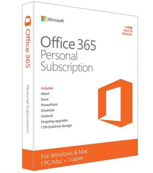 Phần mềm Office 365 Personal 32/64bits