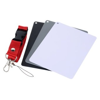 Photography Reference 18% Grey Card Set for Manual White Balance -intl - 4