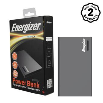 Pin sạc dự phòng Energizer 4,000mAh Li-Po 2 Cổng (Xám) - UE4003GY