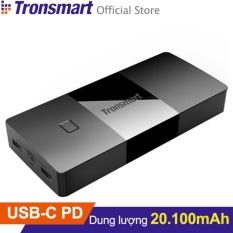 Pin sạc dự phòng TRONSMART PBD20 Brio 20100mAh USB-C Power Delivery