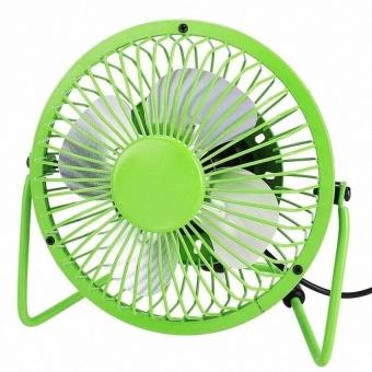 Portable USB Mini Fan (Color:Green) - intl