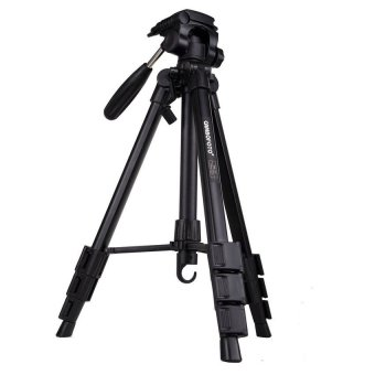Professional Aluminium Alloy Portable Travel Tripod with RockerArmBall Head - intl