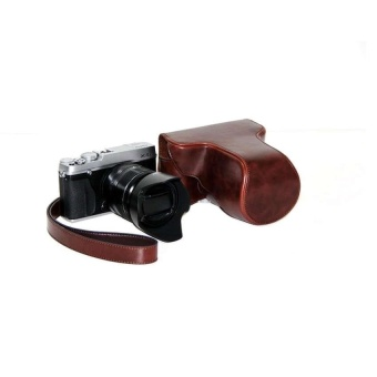 PU Leather Camera Case Bag Cover for Fujifilm X-E1 X-E2 Coffee - intl - 8411539 , OE680ELAA8KN8ZVNAMZ-16671134 , 224_OE680ELAA8KN8ZVNAMZ-16671134 , 608580 , PU-Leather-Camera-Case-Bag-Cover-for-Fujifilm-X-E1-X-E2-Coffee-intl-224_OE680ELAA8KN8ZVNAMZ-16671134 , lazada.vn , PU Leather Camera Case Bag Cover for Fujifilm X-E1