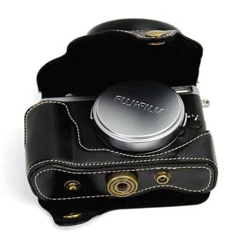 PU Leather Camera Case Bag Cover for Fujifilm X70 Black - intl - 8411978 , OE680ELAA8PSVTVNAMZ-17007644 , 224_OE680ELAA8PSVTVNAMZ-17007644 , 996660 , PU-Leather-Camera-Case-Bag-Cover-for-Fujifilm-X70-Black-intl-224_OE680ELAA8PSVTVNAMZ-17007644 , lazada.vn , PU Leather Camera Case Bag Cover for Fujifilm X70 Black -