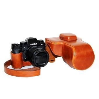 PU Leather Camera Case Bag Cover for Fujifilm XT1 Brown - intl - 8412848 , OE680ELAA8WVZIVNAMZ-17497628 , 224_OE680ELAA8WVZIVNAMZ-17497628 , 652680 , PU-Leather-Camera-Case-Bag-Cover-for-Fujifilm-XT1-Brown-intl-224_OE680ELAA8WVZIVNAMZ-17497628 , lazada.vn , PU Leather Camera Case Bag Cover for Fujifilm XT1 Brown -