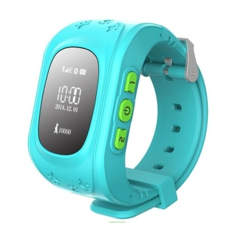 Q50 Kids Smart Watch GPS Tracker Watch Kids SmartwatchRemoteMonitor SOS /GSM Tracker for Child (Blue) - intl