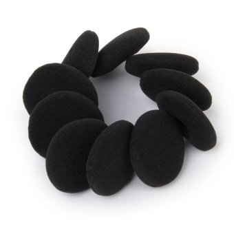 Replacement Ear Cushion Pads For Sony Headphones 5 Pairs Black -Intl