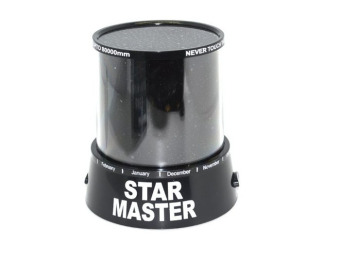 Romantic Cosmos Star Master LED Projector Lamp Night Light Gift Black