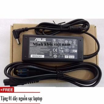 Sạc sử dụng cho Laptop Asus 19v-3.42a+Tặng dây nguồn