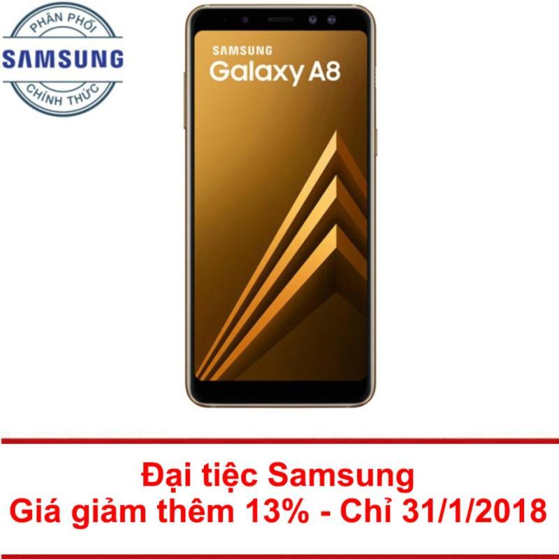 Samsung Galaxy A8 32GB RAM 4GB 5.6inch (Vàng) - Hãng phân phối chính thức