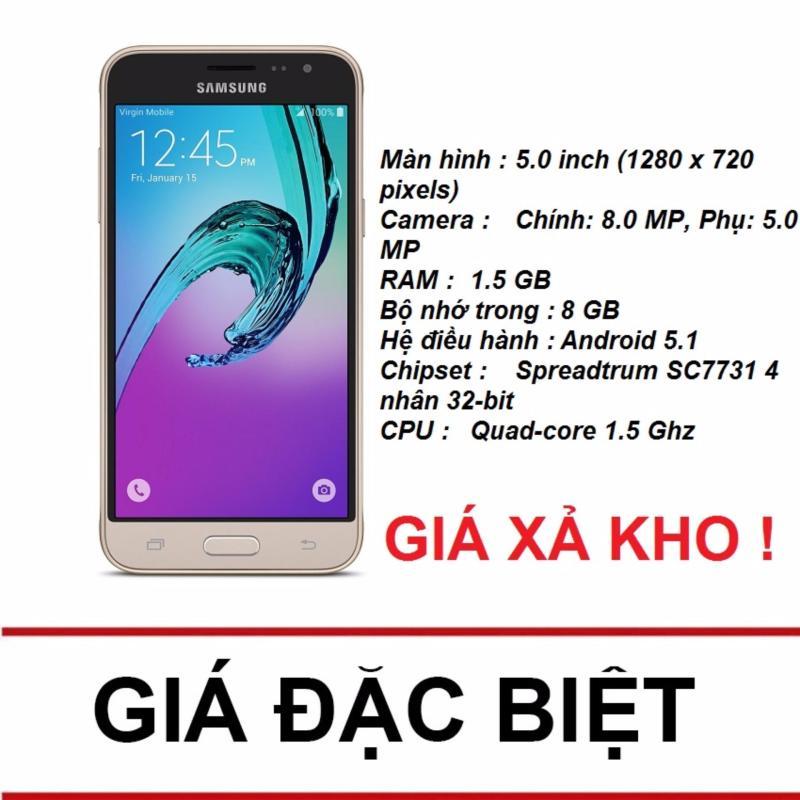 Samsung Galaxy J3 LTE 8GB (Vàng) - Hãng Phân phối chính thức
