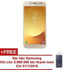 Nơi Bán Samsung Galaxy J7 Pro 2017 32GB Ram 3GB (Vàng) – Hãng phân phối chính thức + Pin sạc dự phòng EB-P3020BNEGWW