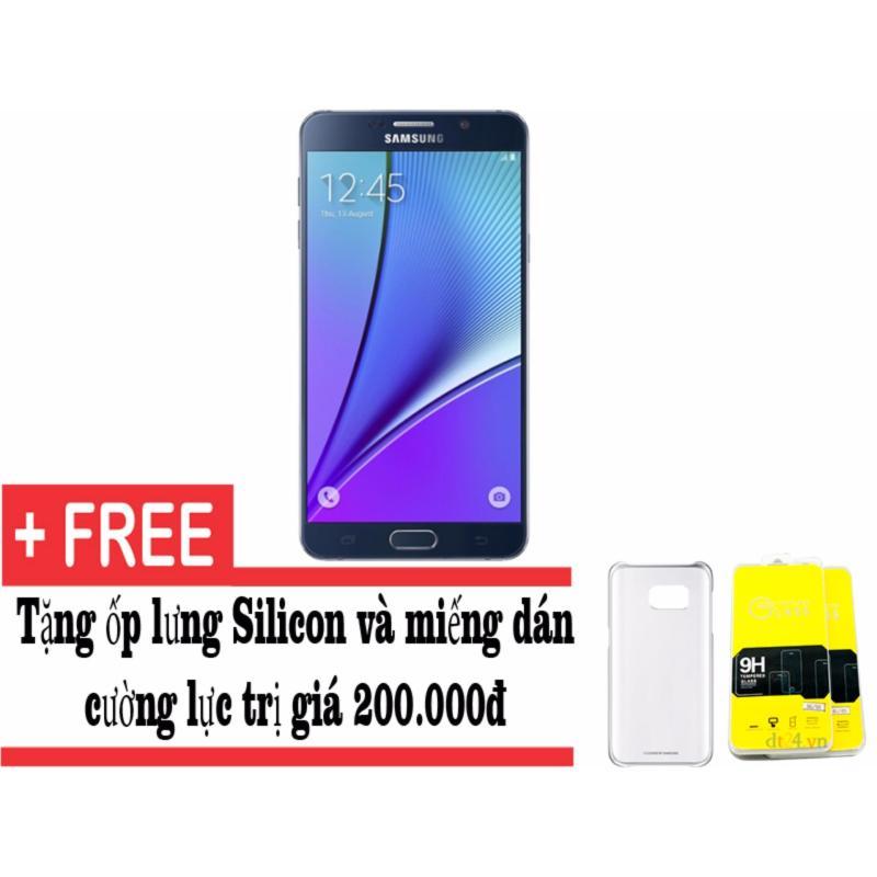 Samsung Galaxy note 5 32GB (Đen) + Tặng ốp lưng và miếng dán cường lực - Hàng nhập khẩu