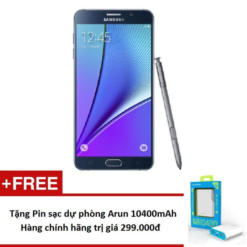 Samsung Galaxy Note 5 N920 32GB + Tặng Pin sạc dự phòng Arun 10.400mah - Hàng nhập khẩu