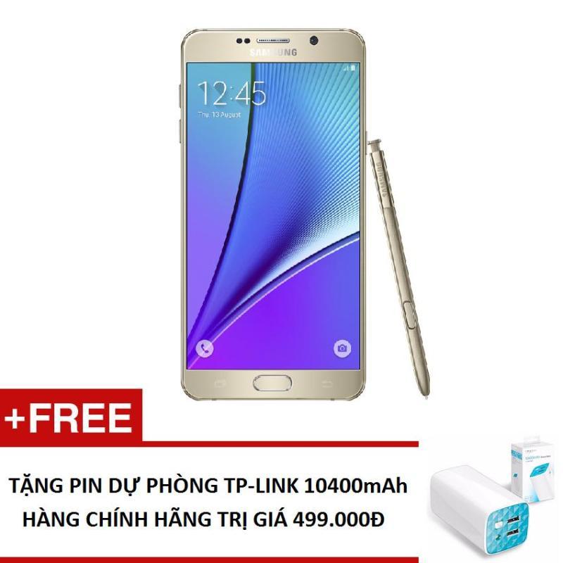 Samsung Galaxy Note 5 N920 32GB  + Tặng Pin sạc dự phòng TP-Link 10.400mah - Hàng nhập khẩu