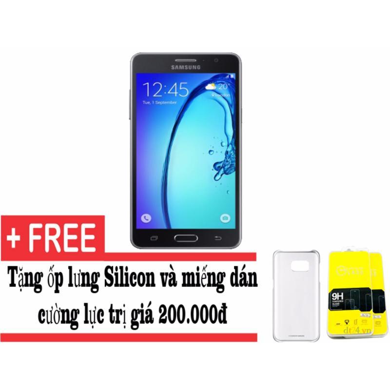 Samsung Galaxy On7 8GB (Đen) - Hàng nhập khẩu + Tặng kèm ốp lưng và dán cường lực
