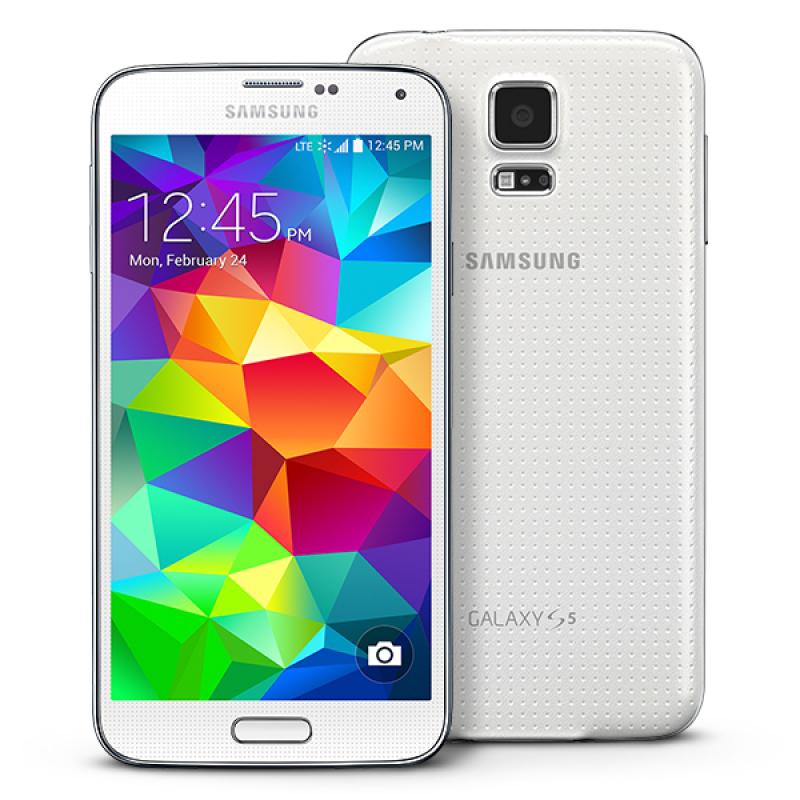Samsung Galaxy S5 G900 16GB (Trắng) - Hàng nhập khẩu